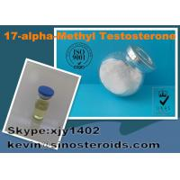 Wholesale 17-Alpha-Methyl Testosterone 58-18-4 Legal Steroid White Powders For Bodybuilding from china suppliers