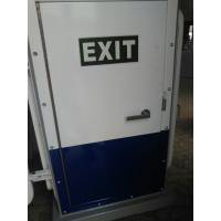 Wholesale White Coating A60 Weathertight Marine Access Doors Single Leaf Steel Exit Door from china suppliers