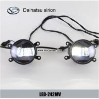 Wholesale Daihatsu sirion car front fog lamp assembly LED lights DRL daylight from china suppliers