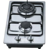 Wholesale Fashion Stainless Steel 2 Burner Gas Hob / Kitchen Gas Cooktop 30cm Built In from china suppliers