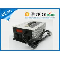 Wholesale 24v 36v 48v truck battery charger 50a 30a 25a with led displayer aluminium case from china suppliers