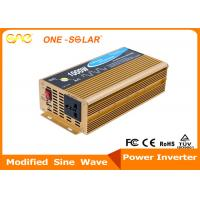 Wholesale 500W 1000W Single Output DC AC Safe / Stable Auto Power Inverter For Car from china suppliers
