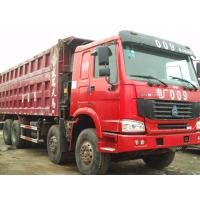 Wholesale 30 CBM Heavy Big Heavy Duty Trucks , 10 Wheel Dump Truck Capacity from china suppliers
