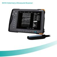 Wholesale High Cost-effective Waterproof 7 inch TFT screen Veterinary Palm Ultrasound Scanner from china suppliers