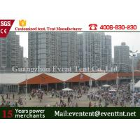 Wholesale Custom 30 x 50 Frame Tent For Auto Show , Big Event Tent With ABS Hard Walls from china suppliers