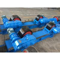 Wholesale Rotary Capacity 40 Ton Tank Turning Rolls / Conventional Welding Rotator from china suppliers