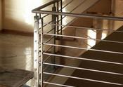 Wholesale 304 , 316 Stainless Steel Handrails / Custom Stainless Steel Wire Staircase from china suppliers