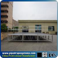 Buy cheap Cheap portable adjustable event stage for church from wholesalers