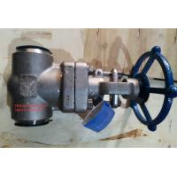 Wholesale BS 5352 Socket Weld Stainless Steel Gate Valve Class 1500 With BW End from china suppliers