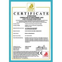 HARBIN QIAN FAN XI FENG MACHINERY CO.LTD Certifications