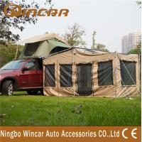 Wholesale anti-water 4 square meter Roof Top Tent , Special house dutch awning from china suppliers