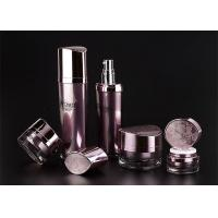 Wholesale Jet Molding Empty Makeup Bottles With A Red And Red Head Cap from china suppliers