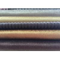 Wholesale 11W 14W 21W 28W New Design Corduroy Fabric Stripe Velvet Fabric For Garment from china suppliers