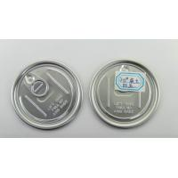 Wholesale Customized food grade  Easy Open lid  ,  aluminum can lids 300# 73mm from china suppliers