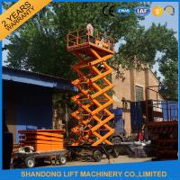 Wholesale Electric Hydraulic Mobile Platform Lift for Aerial Work / Decoration / Street Lamp Maintenance from china suppliers