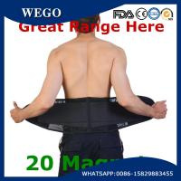 Wholesale WG-LS008 Lightweight Waist Lumbar Lower Back Trimmer Support Brace Belt with 20 Magnets from china suppliers