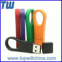 Wholesale Key Ring Portable Pen Drives 8GB Data Storage Memory Pantone Matched from china suppliers