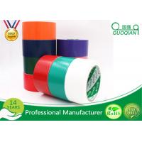 Wholesale Black / Red / White PE Coated Cloth Adhesive Tape For Decorative Masking from china suppliers