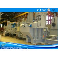 Buy cheap Straight Seam Welded Pipe Mill Steel Pipe Making Machine 1550 Mm Coil Width from wholesalers
