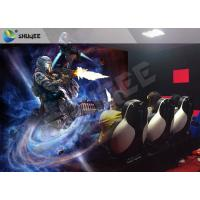 Wholesale Multiplayer Interactive 7D Cinema System Guns Shooting Games Crazy 7D Movie Theater from china suppliers