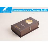 Wholesale Classical Cardboard Packing Boxes Book Shape Storage Box Foil Stamping Printing from china suppliers