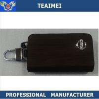 Wholesale Beautiful Recyclable Black Real Leather Key Case Wallet For Nissan Car from china suppliers