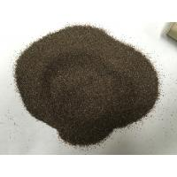 Wholesale Emery Grinding Powder Abrasive Sand Blasting , Brown Fused Corundum For Grinding Wheels from china suppliers