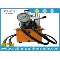 Buy cheap 220V 700bar Electric Hydraulic Pump Transmission Line Stringing Tools With Hydraulic Puncher , Bender , Cylinder from wholesalers