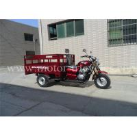 Wholesale OEM Adult 250CC Motor Tricycle Motorized , Three Wheel Cargo Motorcycle from china suppliers