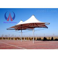 Wholesale Colorful Solid Steel Pole Umbrella Shade Structures Bolt Joint Connection from china suppliers
