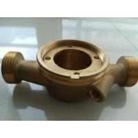 Quality Single Jet Heat Meter Accessories Brass Body For Water Meter / Heat Meter for sale