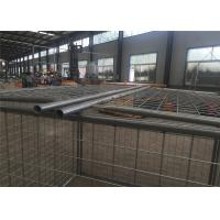 Wholesale Pre Galvanized Wire Storage Cages With Lids , Height 1500mm / 1600mm from china suppliers