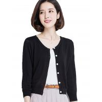 Wholesale Button Down Womens Long Cardigans Summer Short Cardigan Sweaters Lightweight from china suppliers