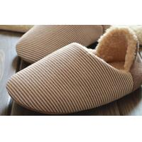 Wholesale Winter house adult knitted slippers 35-45 , Linen cotton winter slippers for home from china suppliers