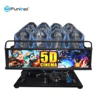 Wholesale 6 DOF Movement 5d Cinema Theater 8D / 9D / Xd Cinema Electric System / Hydraulic from china suppliers