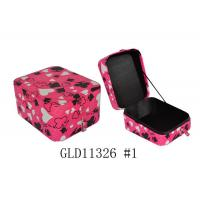 Wholesale Small Square Lovely Colorful PU Leather Jewelry Box For Jewelry Packing from china suppliers