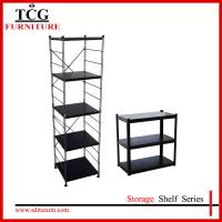 Quality wooden adjustable display rack for sale