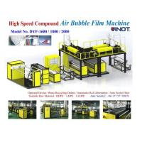 Buy cheap 1200 - 2000mm Width PE Air Bubble Film Machine With Back Unwinder Station - air bubble film making machine sales from wholesalers
