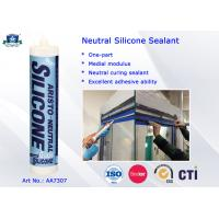 Wholesale One Part Neutral Clear or Coloured Silicon Sealant -40 to 100 ℃ High Performance from china suppliers