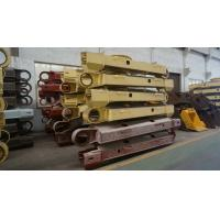 Wholesale Customized Professional drawing Steel Crawler Track Fabrication , Excavator Component from china suppliers
