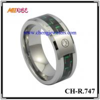 Quality Tungsten Jewelry tungsten carbide rings tungsten wedding bands men's tungsten ring wood inlaid tungsten rings for sale