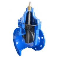 Quality PN10 DIN 3352 EPDM / NBR Resilient Seated Gate Valve , Temperature -20~120 C for sale