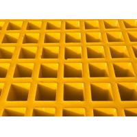Wholesale High Strength Fiberglass Walkway Grating, Grey Concave Surface FRP Molded Grating from china suppliers