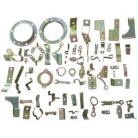 Wholesale Copper Metal Stamping Parts Sandblasted Surface 0.05 - 12 MM Thickness from china suppliers