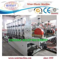 Wholesale PVC + Wood Powder Plastic Board Production Line OMRON Control from china suppliers