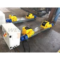 Wholesale 5000kg Adjustable Turning Roller Bed For Pipes Tanks Cylinders Rotation Sefl Centering from china suppliers