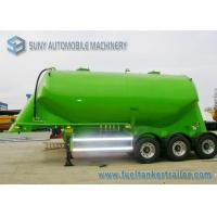 Wholesale 30 m3 Conoid Dry Bulk Tank Trailer 3 Axles Aluminum Cement Semi Trailer from china suppliers