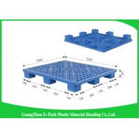 Wholesale Stackable Warehouse Rackable Plastic Pallets , Light Duty 40 X 48 Plastic Pallets from china suppliers
