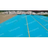Quality Soccer Pitch Artificial Grass Shock Pad Wear Resisting Labosport Certified for sale