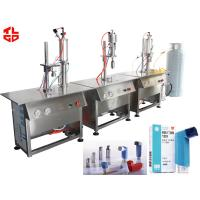 Wholesale MDI Dose Inhaler Nasal Spray Filling Machine , Small Spray Bottle Filling Machine from china suppliers